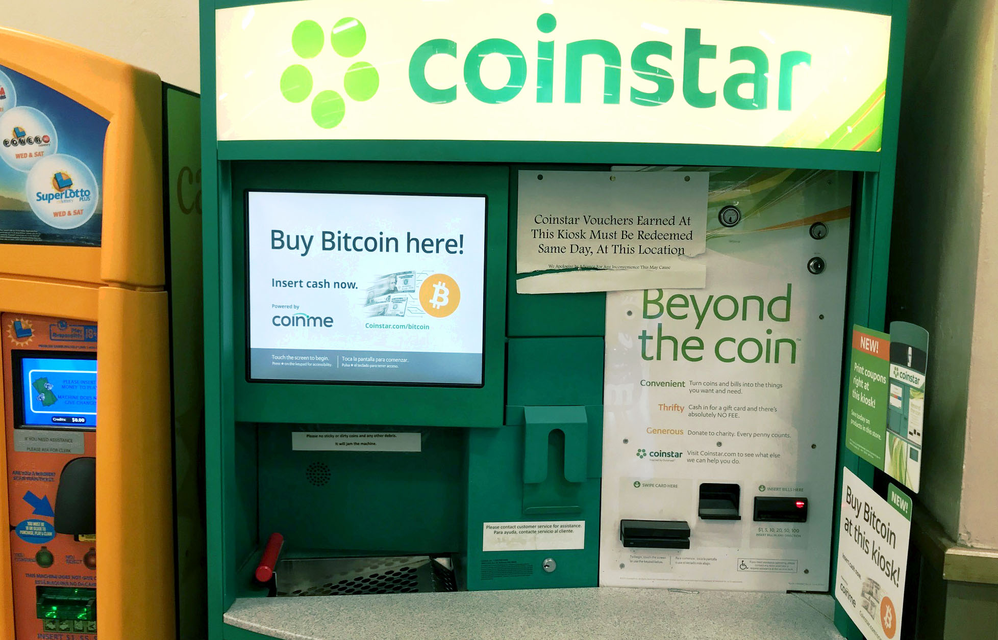 Coinstar Kiosks now Largest Network in the Dallas/Ft. Worth