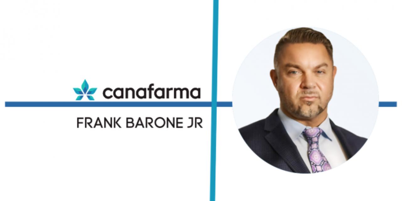 Season Executive Frank Barone Helps Lead Rising Company CanaFarma as Company's Chief Operating Officer